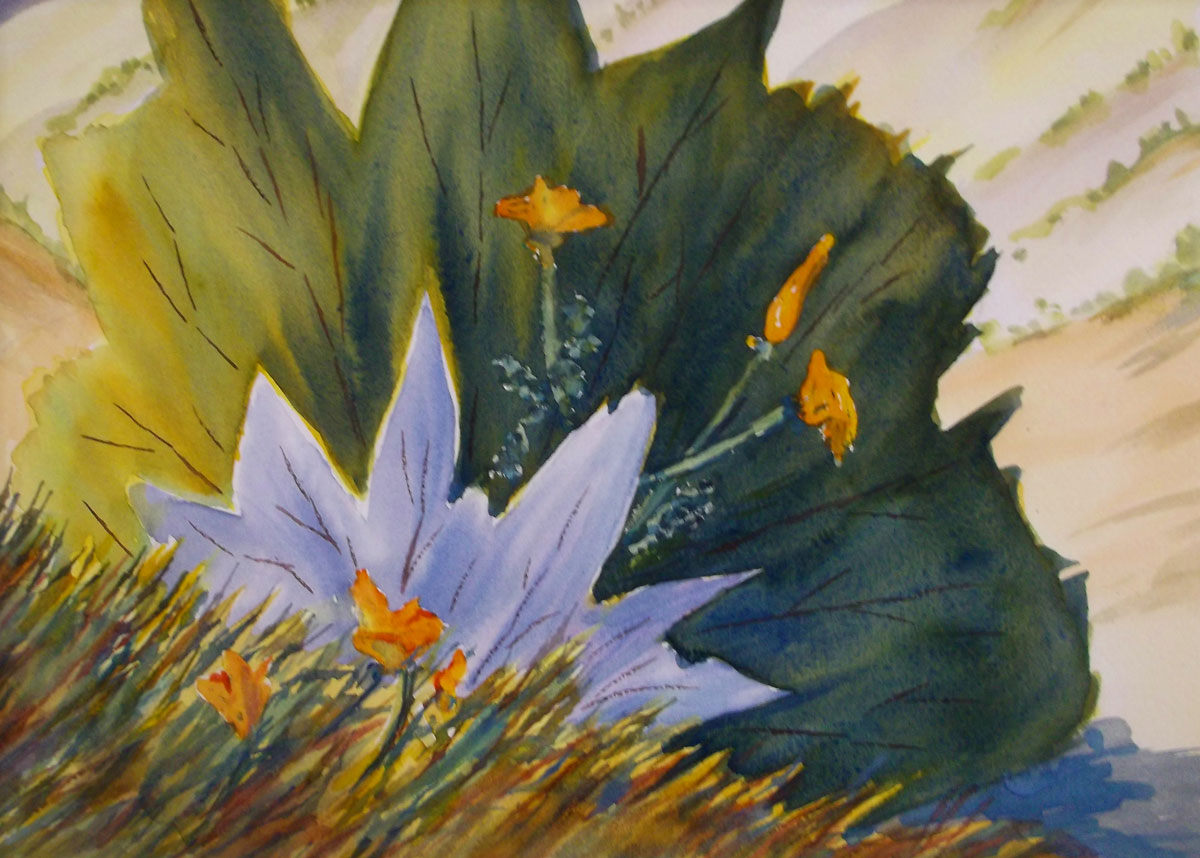 Watercolor by Susan Barry - Afternoon Delight