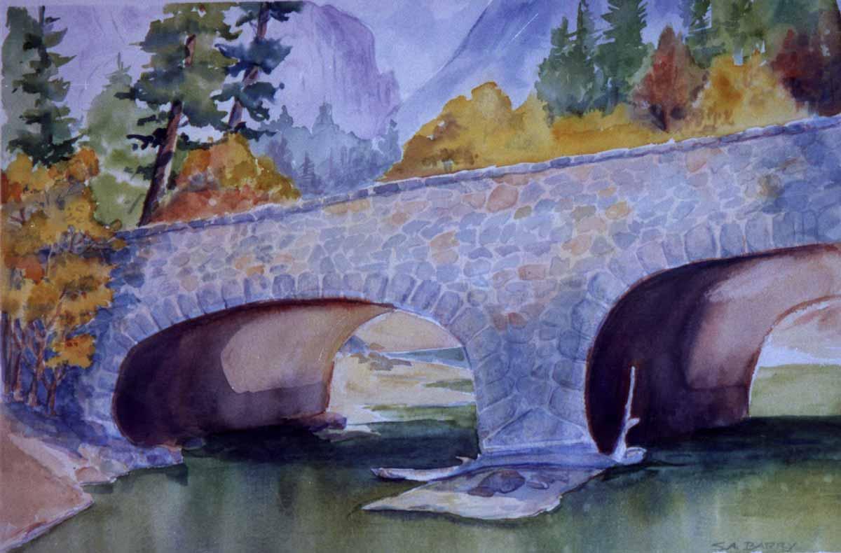 Ahwanhee bridge