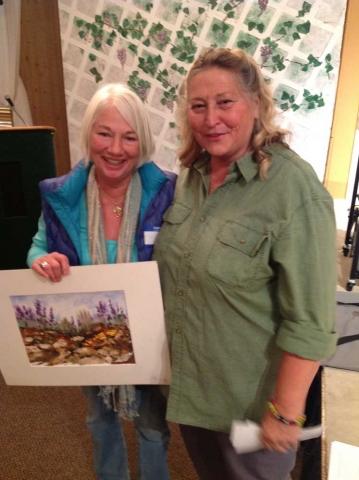Lake Wildwood Art demo