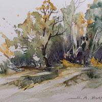 Watercolor Landscapes by Susan Barry
