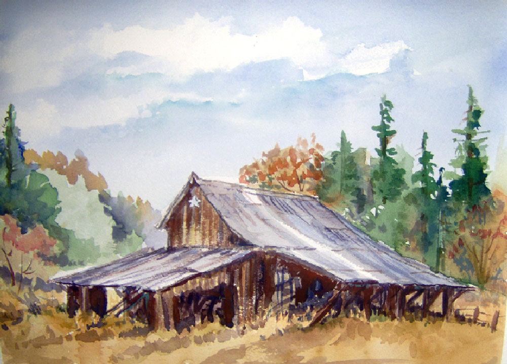 Buildings by Susan Barry - Old Star Barn