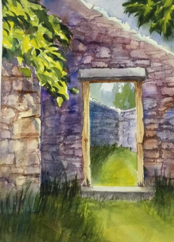 Rock Ruins by Susan Barry