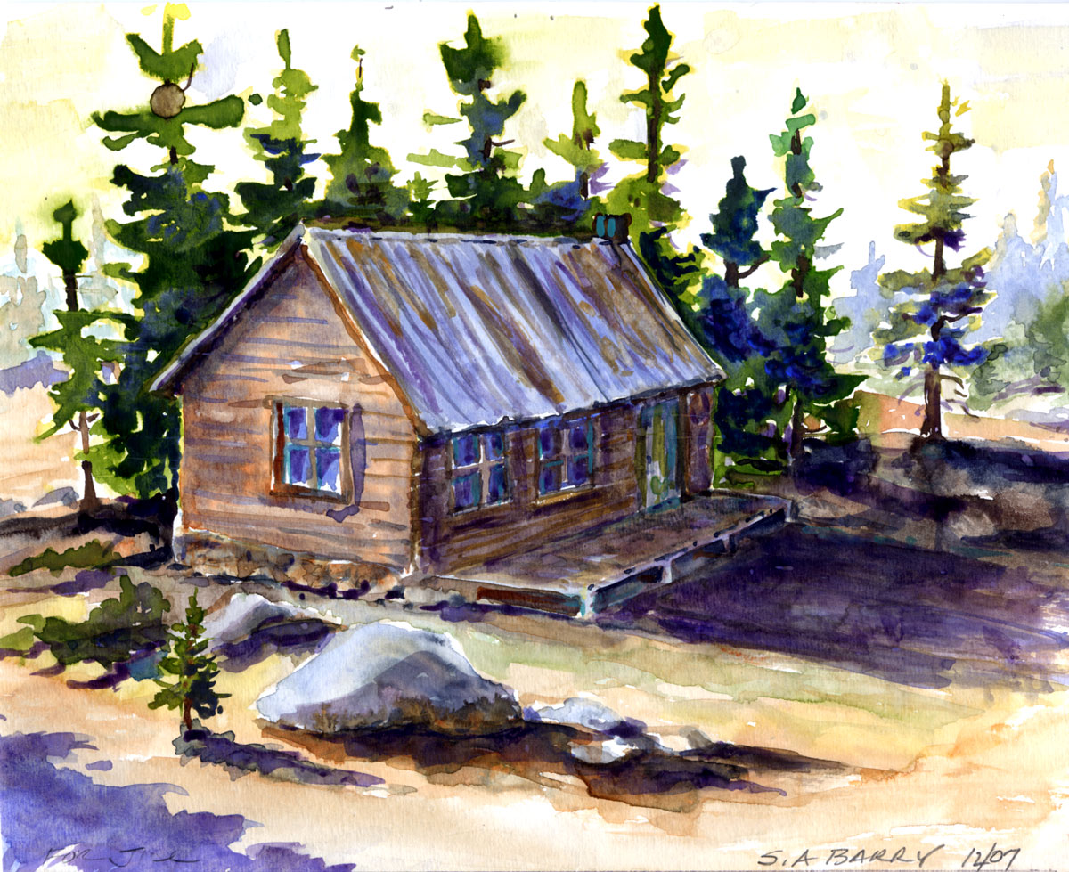 Buildings by Susan Barry - Sue's Cabin